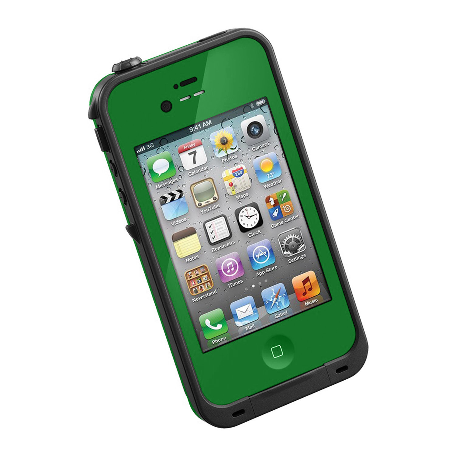 New Waterproof Shockproof Dirtproof Snowproof Protection Case Cover for Apple Iphone 5 Green