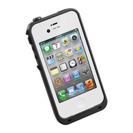 HESGI New Waterproof Shockproof Dirtproof Snowproof Protection Case Cover for Apple Iphone 4 4S White