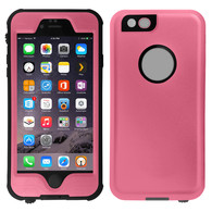 HESGI iPhone 6S Waterproof Case, IP-68 Waterproof Shockproof Dust Proof Snow Proof Full Body Protective Case Cover for Apple iPhone 6S iPhone 6 4.7 [Pink]