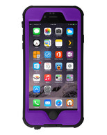 HESGI iPhone 6S PLUS Waterproof Case, IP-68 Waterproof Shockproof Dust Proof Snow Proof Full Body Protective Case Cover for Apple iPhone 6S PLUS iPhone 6 PLUS 5.5[Purple]