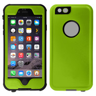 HESGI iPhone 6S PLUS Waterproof Case, IP-68 Waterproof Shockproof Dust Proof Snow Proof Full Body Protective Case Cover for Apple iPhone 6S PLUS iPhone 6 PLUS 5.5[Green]