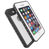 HESGI Thin IP68 Waterproof Case for Apple iPhone 7 - White