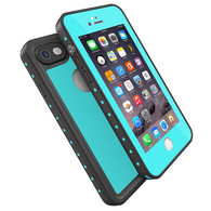 HESGI Thin IP68 Waterproof Case for Apple iPhone 7 - Teal