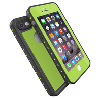 HESGI Thin IP68 Waterproof Case for Apple iPhone 7 - Yellowgreen