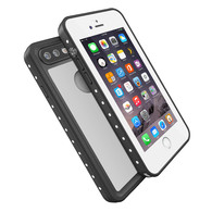 HESGI iPhone 7 Plus case IP68 Waterproof Shockproof Dirtproof Snowproof Protection Phone Case Thin Full Function Sensitive Screen For iPhone 7 Plus 5.5inch (2016 Newest) White