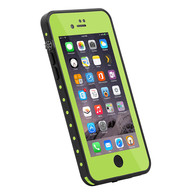 HESGI iPhone 7 Plus case IP68 Waterproof Shockproof Dirtproof Snowproof Protection Phone Case Thin Full Function Sensitive Screen For iPhone 7 Plus 5.5inch (2016 Newest) Yellowgreen
