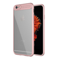 iPhone 8 Case, iPhone 7 Case,Tough PC and Flexible TPU Ultra Slim Case Premium Hybrid Protective Clear Case for Apple iPhone 7/ 8-Pink