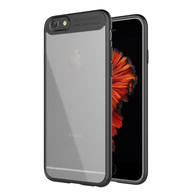iPhone 8 Case, iPhone 7 Case,Tough PC and Flexible TPU Ultra Slim Case Premium Hybrid Protective Clear Case for Apple iPhone 7/ 8-Black